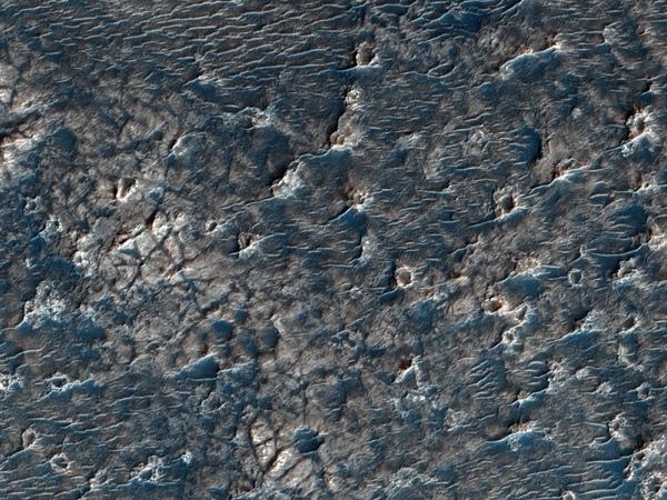 Beer crater mars