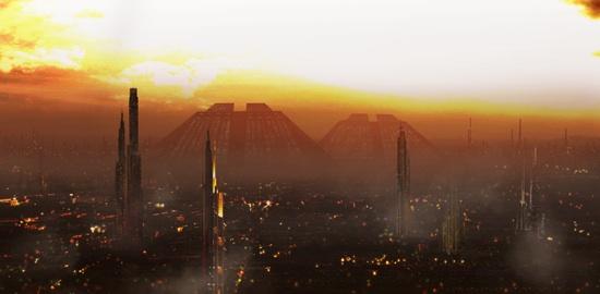 Bladerunner skyline